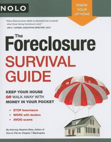 The foreclosure survival guide free pdf