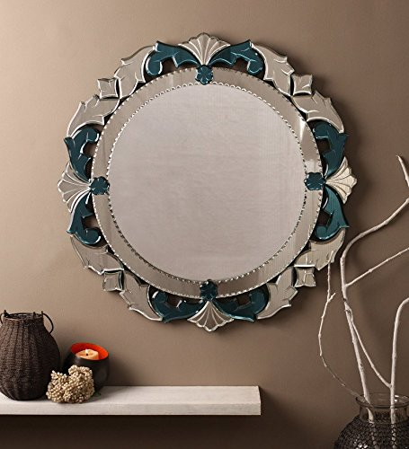 Venetian Design Decorative Round Mirror