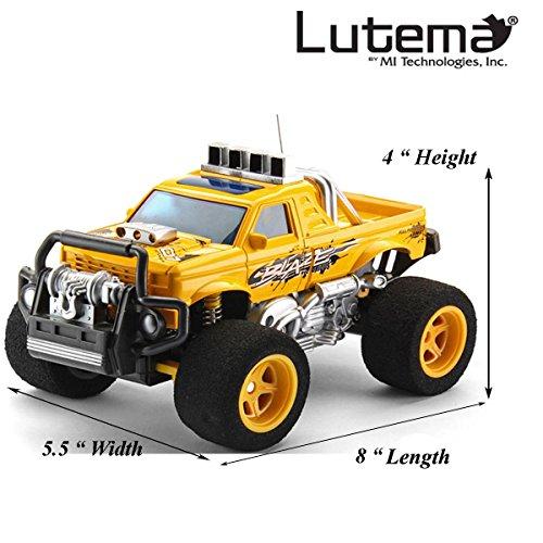 Lutema Blaze Truck 4CH Remote Control Truck, Yellow (Long Range Remote Control Truck compare prices)