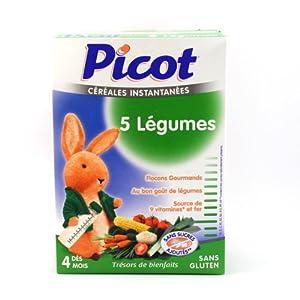 Picot-Cereales 5 Legumes Sans Gluten Picot, 200 G