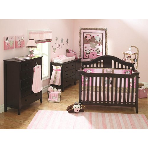 Summer Infant TuTu Cute Nursery 9-Piece Bedding Set (Discontinued by Manufacturer) - 1