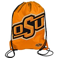 Buy Forever Collectibles NCAA Oklahoma State Cowboys Drawstring Backpack by Forever Collectibles