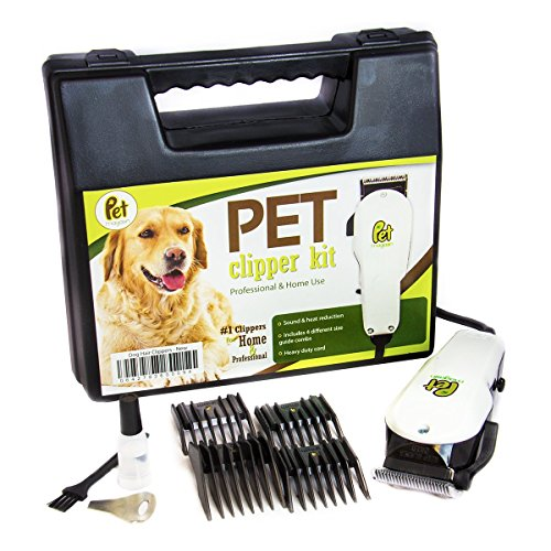 dog grooming clippers new model pet electric hair clippers heavy duty with comb guides for small medium u0026 large dogs cats and other house
