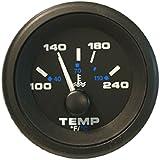 Sierra International 62729P Premier Marine Water Temperature Gauge