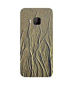 Sandy Roots HTC One M9+ Case