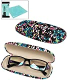 Abstract Colorful Print Eyeglass Case