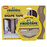 Frog Shape Design Painters Tape -Yellow Wave