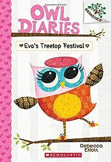 Book Cover: Owl Diaries #1: Eva's Treetop Festival