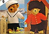 Sirdar Bear Necessities: Toy Bear Clothes Knitting Pattern: Trousers, T-Shirt, Dungarees, Pinafore Dress, Sweater, Beret, Jacket, hat..and much more Sirdar