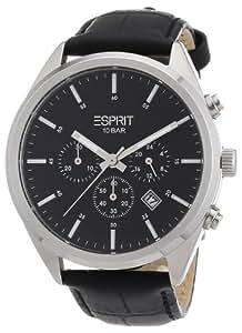 Esprit Herren-Armbanduhr XL glandale Analog Quarz Leder ES106261001