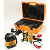 Johnson Level and Tool 40-6529 Electronic Self-Leveling Horizontal and Vertical Rotary Laser Kit