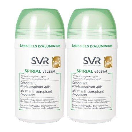 Svr Spirial Deodorante Antitraspirante Roll-On 2x50ml