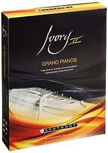 【正規輸入品】 Synthogy Ivory II Grand Pianos ピアノ音源 スタインウェイ ベーゼンドルファー ヤマハ