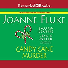 Candy Cane Murder Audiobook by Joanne Fluke, Leslie Meier, Laura Levine Narrated by Suzanne Toren