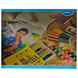 Navneet my blue drawing book (set of 12)