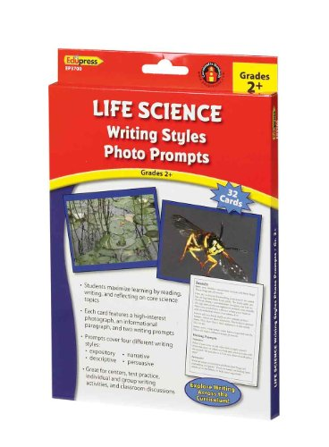 Writing Styles Photo Prompts Life Science Grade 2+