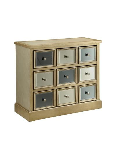 Coast to Coast Ashton 3-Drawer Chest, Golden
