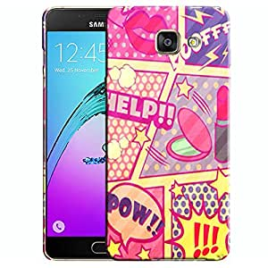 Theskinmantra Poff Help Samsung Galaxy A5 (2016 Edition) mobile panel