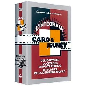 Coffret intégrale Caro et Jeunet : Delicatessen / La Cité des enfants perdus / Le Bunker de la der