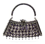 Rosa Top Handle Jeweled Handbag