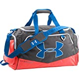 Under Armour Undeniable Duffel Bag, Graphite/After Burn/Blue Jet, Medium