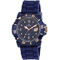 Maxima Hybrid Analog Blue Dial Men's Watch - 30720PPGN