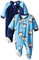 Gerber Baby and Little Boys 2 Pack Blanket Sleepers