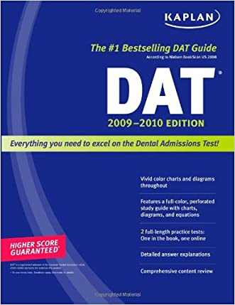Kaplan DAT 2009-2010 Edition (Kaplan Dat (Dental Admission Test))