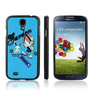 ENKAY Lovely Girl Pattern Protective Plastic Case for Samsung Galaxy S4 i9500