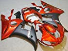 Orange Black Fairing Bodywork Cowl Kit for 2003-2005 Yamaha Yzf R6 R600 YZF-R6 2004