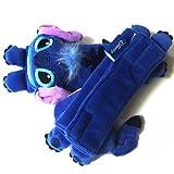 Disney Lilo & Stitch Multi Use Auto Car seat belt cover Plush Seat Shoulder Pad Cushion 2 pcs One Pair