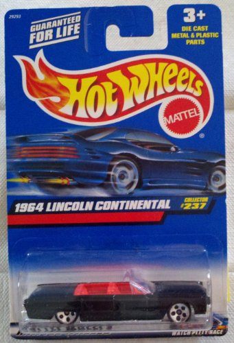 Hot Wheels 2000 Collector No. 237 - 1964 Lincoln Continental - 1