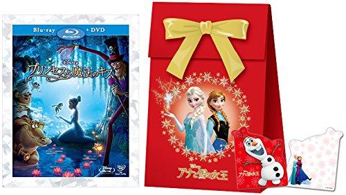 【早期購入特典あり】プリンセスと魔法のキス ブルーレイ(本編DVD付)(「アナと雪の女王」オリジナル ギフトバッグ付) [Blu-ray]