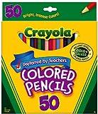 Crayola 50ct Long Colored Pencils (68-4050)