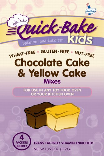Gf Df Chocolate Cake & Yellow Cake Mixes - For Toy Ovens!