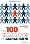 100 R�GLES D'OR DU MANAGEMENT (LES)