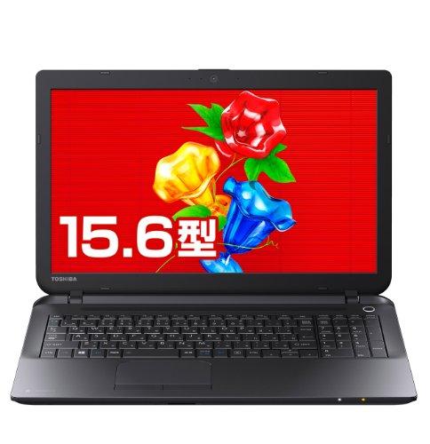 東芝 dynabook Satellite B25/21MB 東芝Webオリジナルモデル (Windows 8.1/Officeなし/15.6型/Bluetooth/celeron/ブラック) PB25-21MSUBW