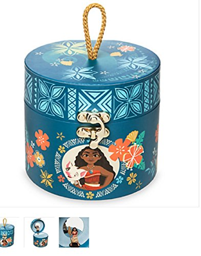 Disney Moana Musical Jewelry Box