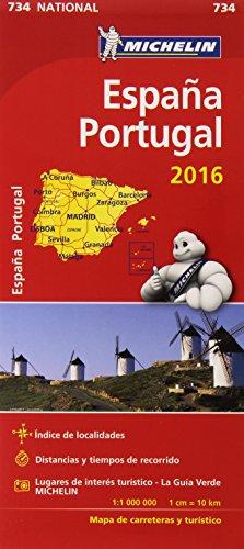 Mapa National España & Portugal (Mapas National Michelin)