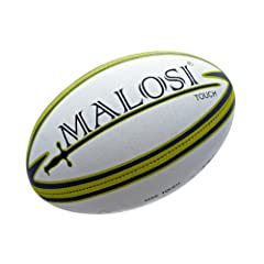 Buy Touch Rugby Ball (Match Quality) - Malosi Saber, Size Touch [Official] by Malosi