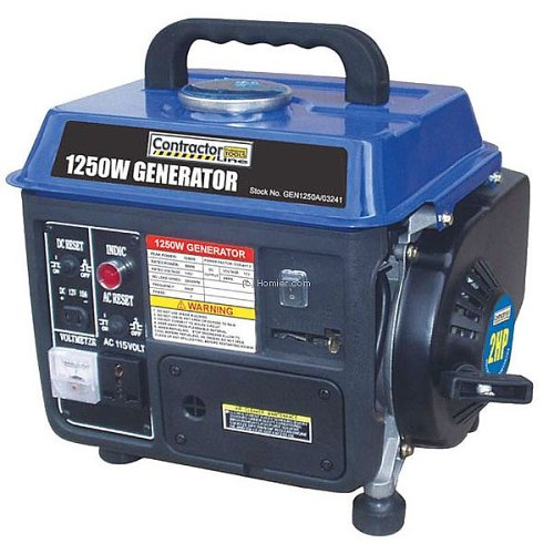 2-Cycle Gas-Powered Generator Blue Max GEN 1250