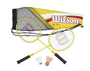 Wilson Kid's All Great Badminton Kit (2-Piece)