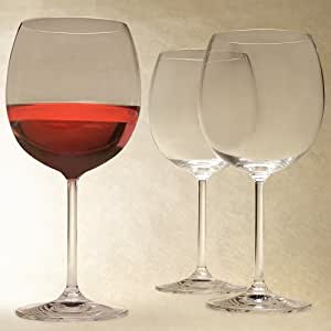 Marquis by waterford vintage light red wine glasses set of 4 wine glasses - Waterford colored wine glasses ...