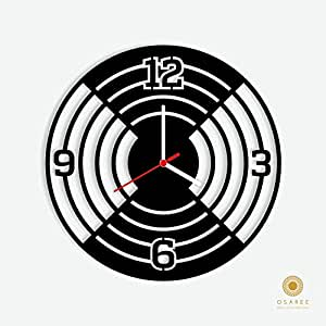 Buy Circle Illusion Modern Wall Clock Online At Low Prices