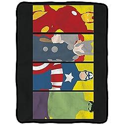Avengers Characters Fleece Blanket