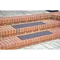 Dean Indoor/Outdoor Non Skid Stair Treads - Brown 36