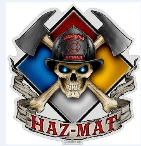 HAZ-MAT Decal - 2 Inch Decal (Hazmat Decals compare prices)