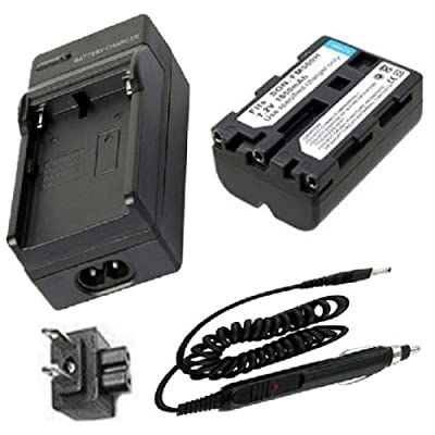 Battery and Charger for Sony NP-FM500H and Sony CLM-V55, Alpha SLT-A57, SLT-A65, SLT-A77, SLT-A99, SLT-A99V Digital SLR Camera and Sony Alpha DSLR-A200, DSLR-A300, DSLR-A350, DSLR-A450, DSLR-A500, DSLR-A550, DSLR-A560, DSLR-A580, DSLR-A700, DSLR-A850, DSLR-A900 Digital SLR Camera deal 2015