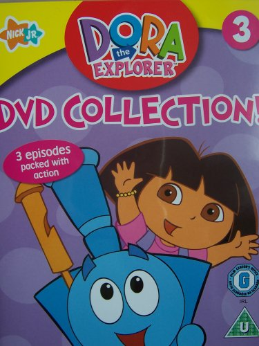 Dora the Explorer Vol. 3 - Choo Choo; Tasty Treats; Bouncing Ball.