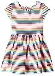 UFO Girls' Dress (AW16-WR-GKT-344_Orange_8 - 9 years)